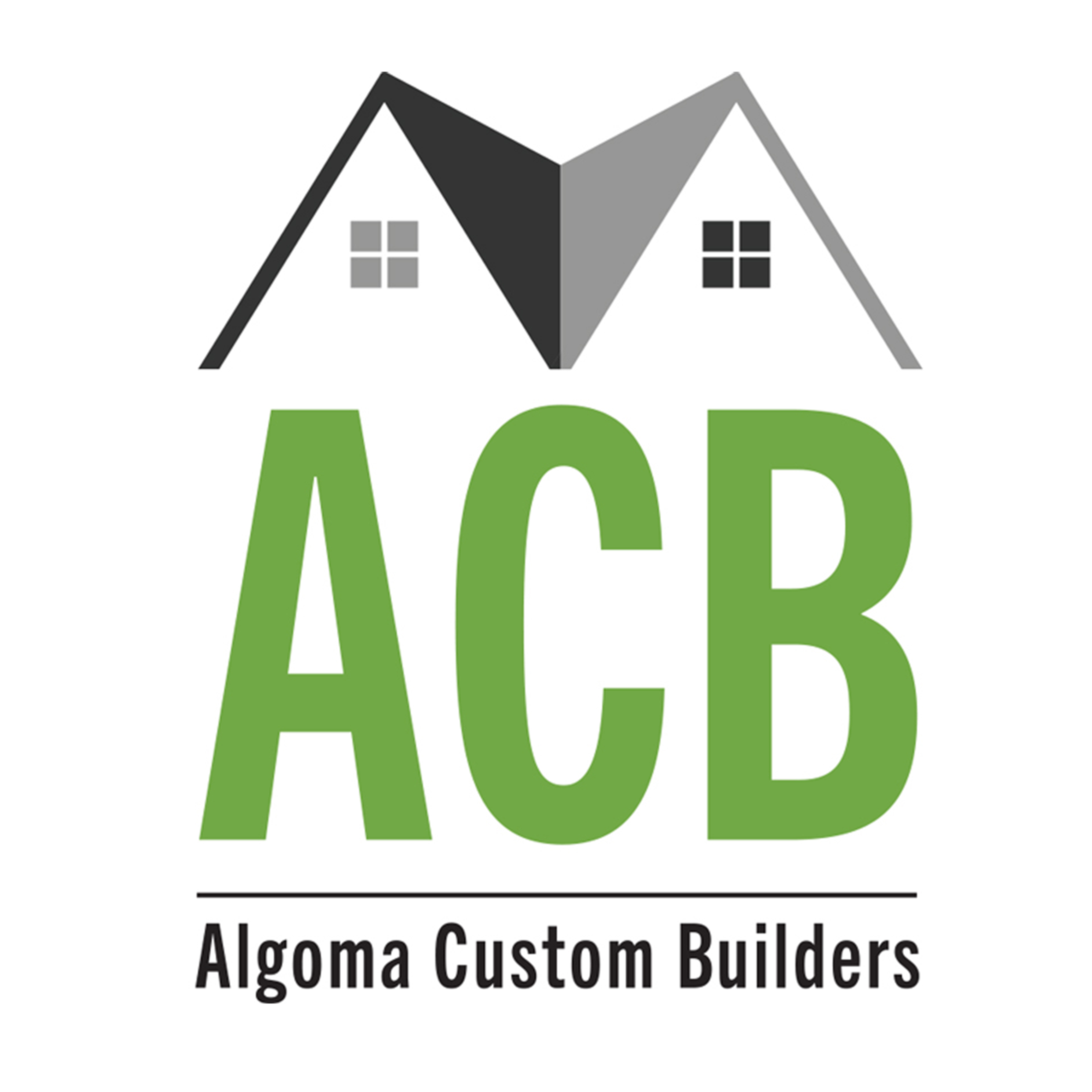 CC Communications Logo Development of Algoma Custom Builders